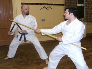 Kobudo Training