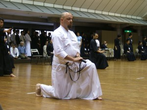 Chris grading in Japan